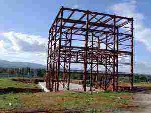 ΔΚ_Αυλώνα_  Σκελετός Εργοστάσιο Βιομάζας