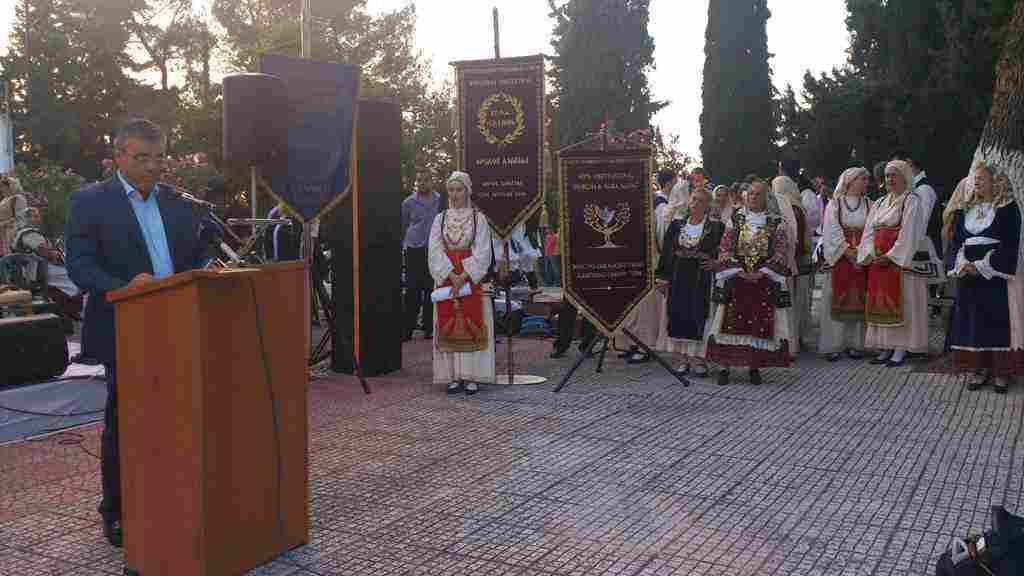 Ο Δήμαρχος Τανάγρας κ. Βασίλης Περγάλιας απευθύνει τον χαιρετισμό του