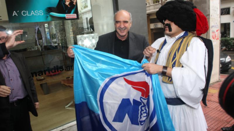 Απρόσμενη συνάντηση του Β. Μεϊμαράκη με την... Ελληνοφρένεια