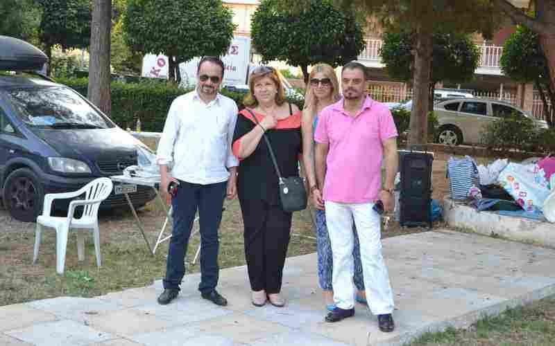 Ο Πρόεδρος του ΝΠΔΔ Δήμου Ωρωπού κ. Μιχάλης Τόλιας με τη σύζυγο του, ο Δημ. Σύμβουλος κ. Σπύρος Καυκόπουλος και η Γραμματέας του ΝΠΔΔ Δήμου Ωρωπού κ. Αμαλία Σαμαρά