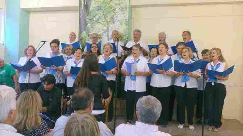 Χορωδια Ενηλίκων Καπανδριτίου - Διεύθυνση Χορωδίας κ. Γεωργακοπούλου Βασιλική Νίκη