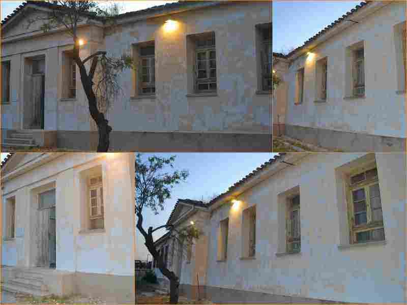 Το κτίριο των Παλαιών Φυλακών Ωρωπού πριν την ανακαίνιση