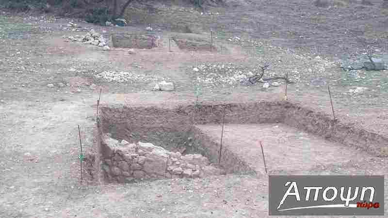 Τοίχος από δωμάτιο πρωτοβυζαντινής περιόδου